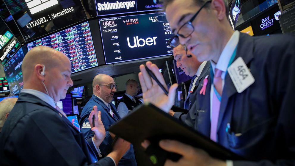 Uber sigue en caída libre y ya acumula una pérdida del 17% desde que salió a bolsa