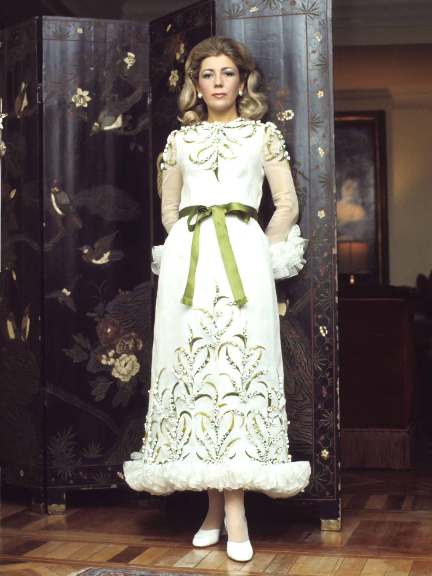 Mayte Spínola en una imagen de la década de los años 70. (Gtres)