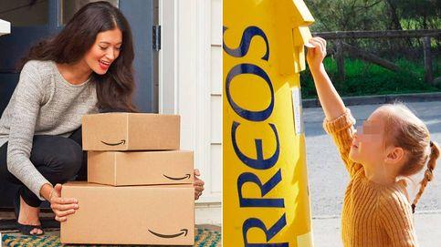 El cartero ya no llama (tanto) a tu puerta: los paquetes de Amazon desbancan a las cartas