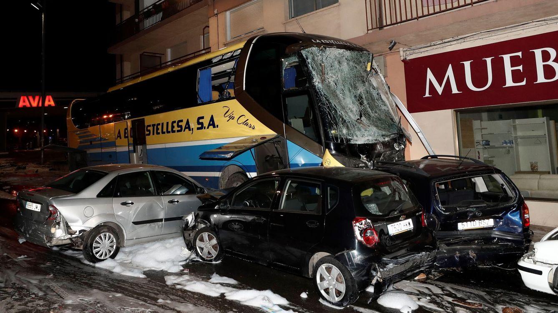 Mueren dos hermanos tras ser arrollados por un autobús en Estella (Navarra)