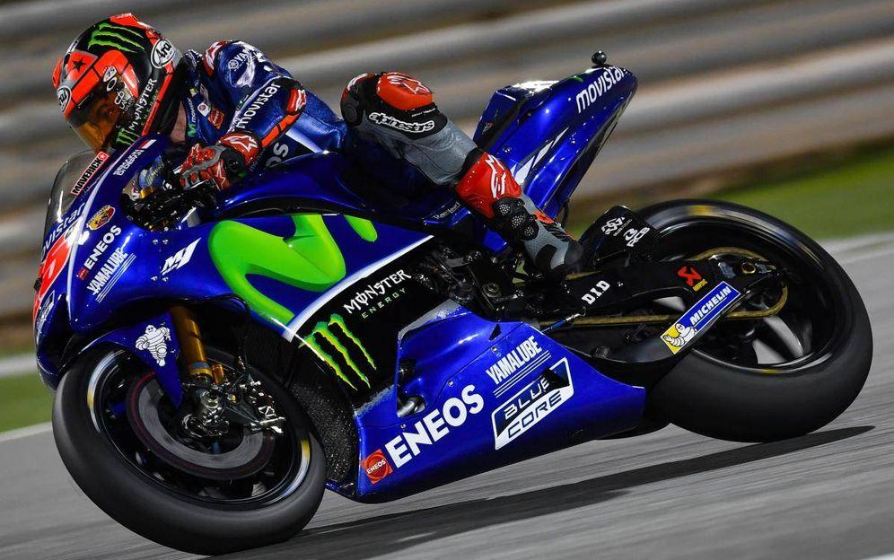 Foto: Viñales es el primer líder del año. (MotoGP)