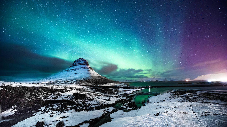 La larga noche de Islandia. (iStock)