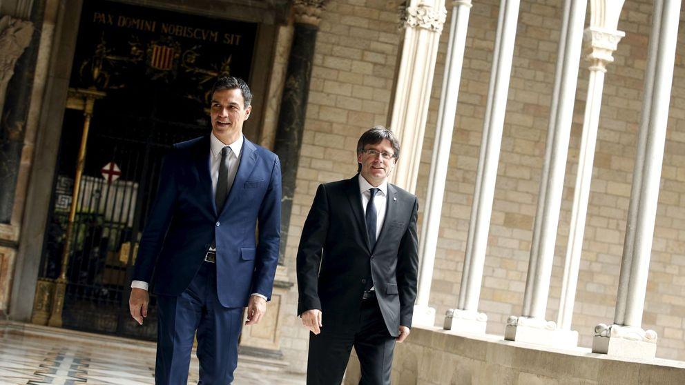 La moción de censura de Sánchez abre una tregua en el plan de choque de Torra