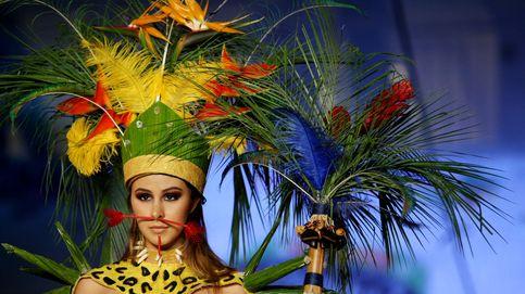 Atardecer en Kuwait y un circo de camuflaje en Colombia: el día en fotos