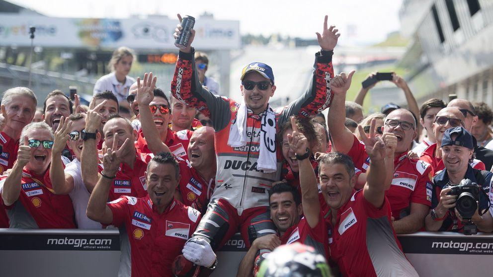 La dolorosa alegría de Ducati con Lorenzo, que se irá al enemigo (Honda) en 2019