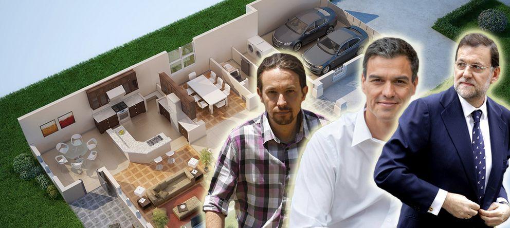 casas de los políticos españoles