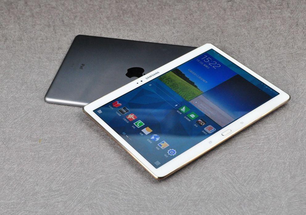 Foto: iPad Air y un Galaxy Tab S