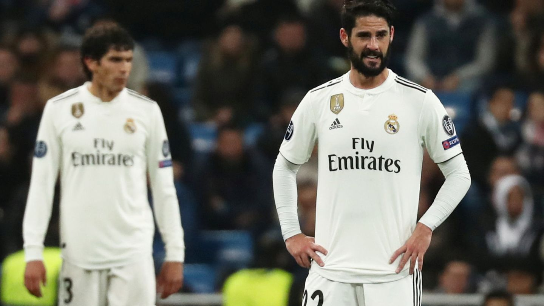Isco no jugó contra el Rayo Vallecano. Ni siquiera calentó. (Reuters)