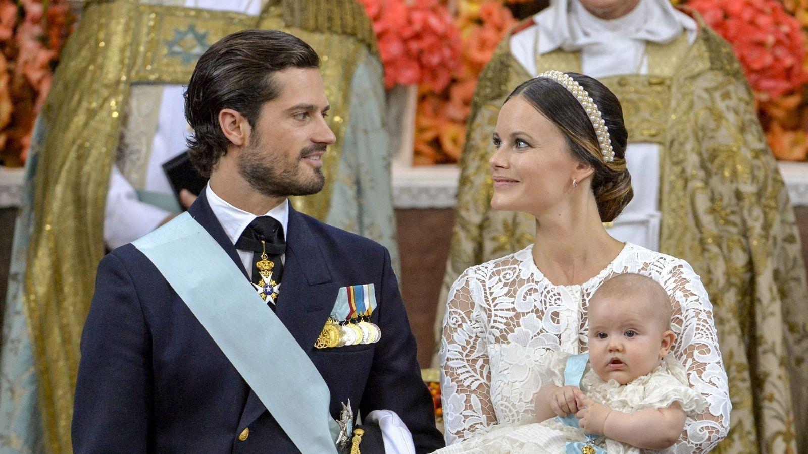 Foto: Carlos Felipe y Sofía, en una imagen de archivo. (EFE)