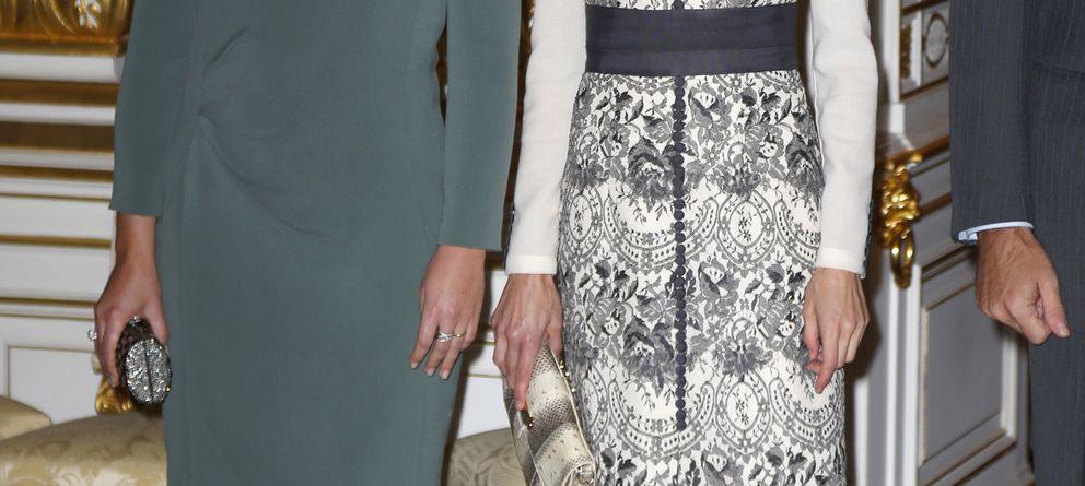 Foto: La Reina Letizia y la princesa Stephanie de Luxemburgo (Gtres)
