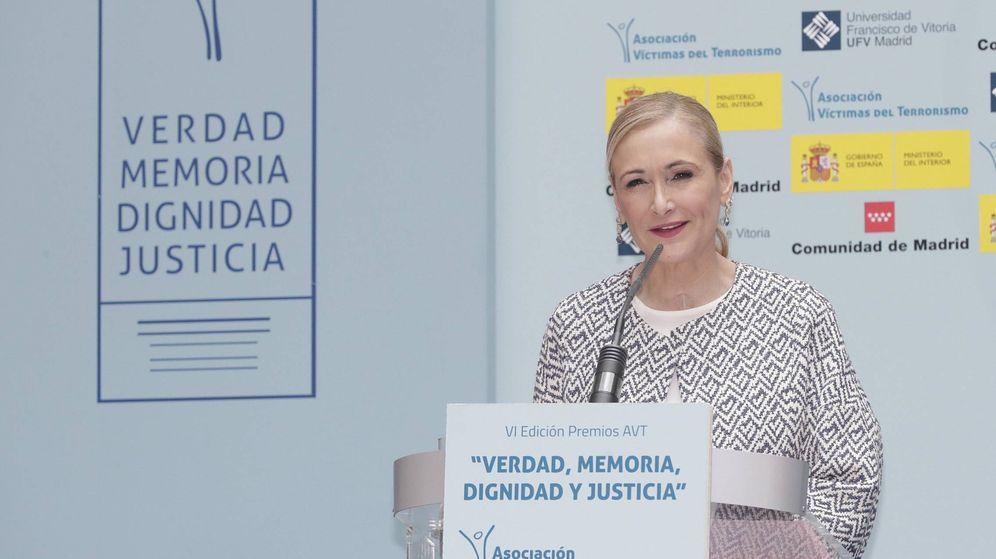 Foto: Cristina Cifuentes, en los premios de la Asociación de Víctimas del Terrorismo.