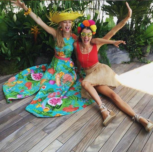 Foto: Beatrice, el domingo en la fiesta caribeña