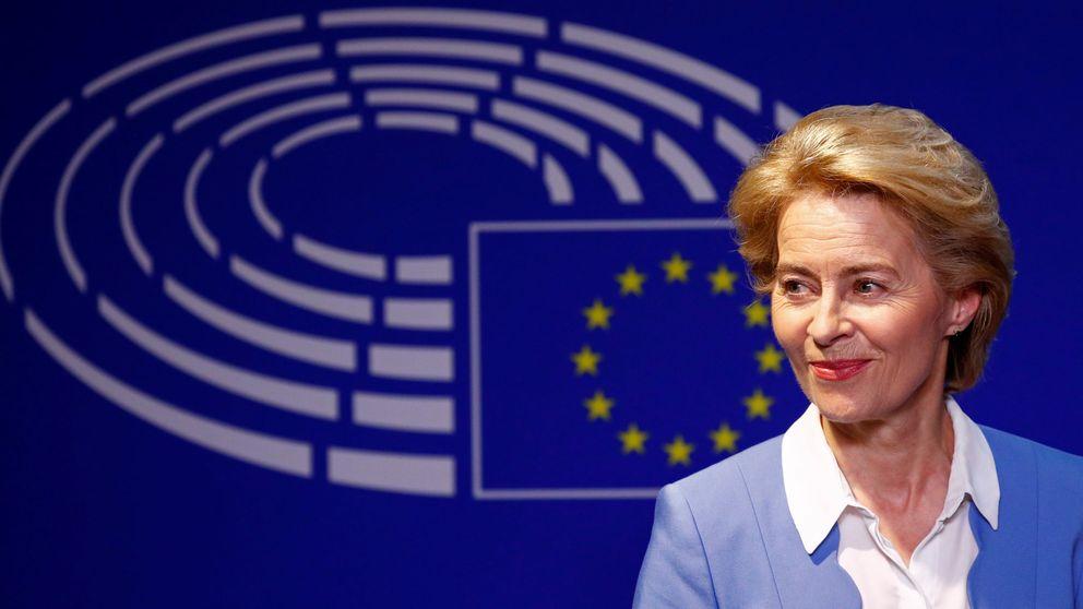 Der Leyen promete un salario mínimo en la UE como presidenta de la Comisión