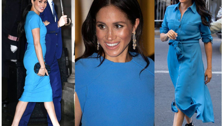 Meghan de azul, turquesa. (Getty/Cordon Press)