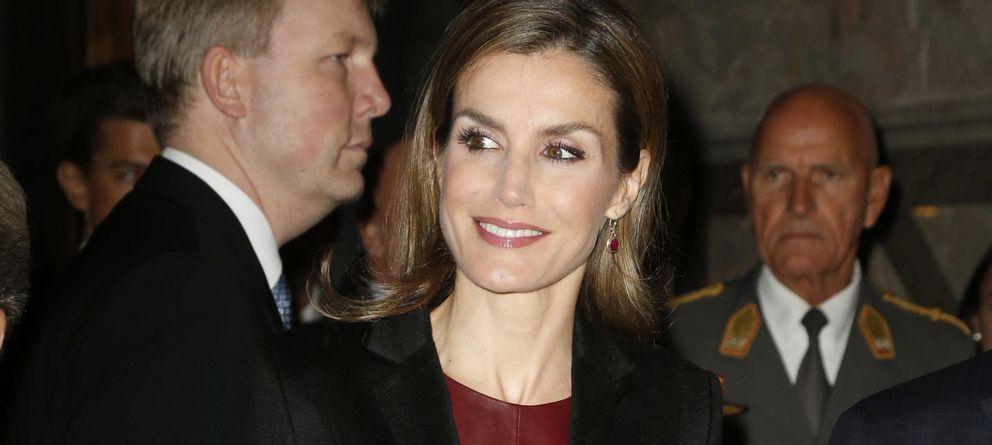 Foto: La Reina durante su acto en Viena (Gtres)