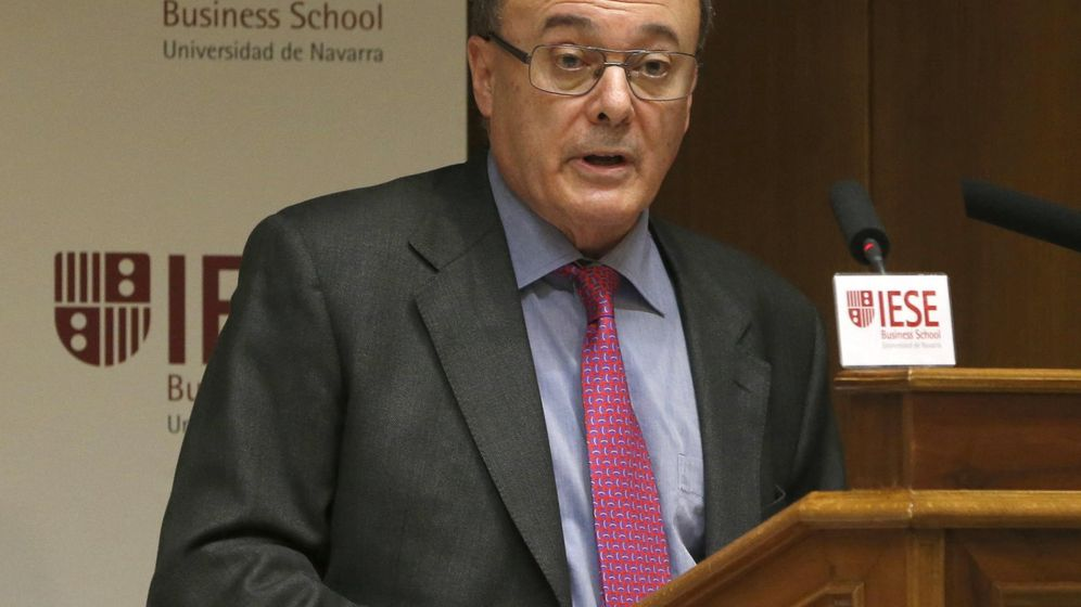 Foto: El gobernador del Banco de España, Luis María Linde, durante una inauguración. (EFE)