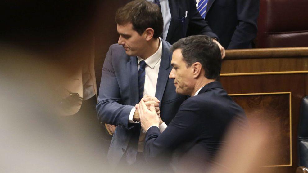 El último pleno de la legislatura confirma la ruptura absoluta de Sánchez y Rivera