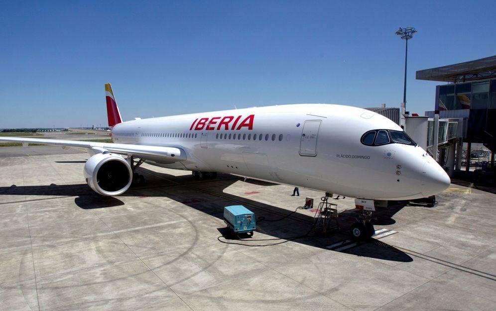 Foto: Un avión de Iberia. (EFE)