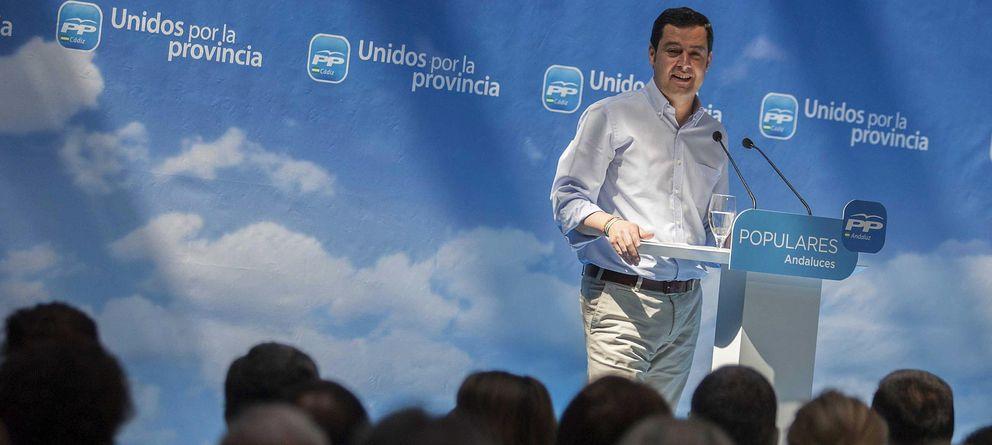 Foto: El presidente del PP de Andalucía, Juan Manuel Moreno Bonilla (Efe)