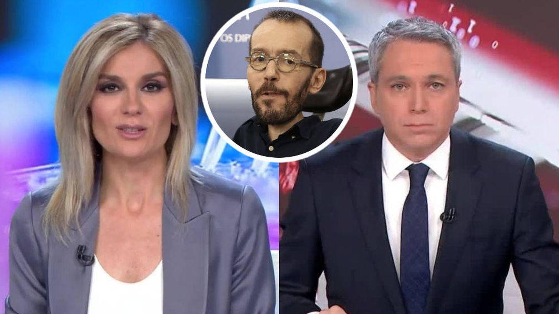 Sandra Golpe carga contra Echenique por manipular un vídeo en el que critica a Vicente Vallés