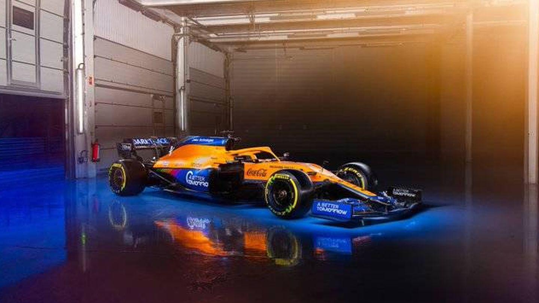 El McLaren MCL35M es el primer monoplaza presentado bajo los nuevos cambios aerodinámicos (McLaren)