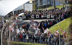 Varios expresos de ETA asisten a los funerales por Bolinaga en Arrasate