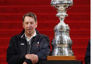 Foto: Larry Ellison, fundador de Oracle, el ejecutivo mejor pagado de la década