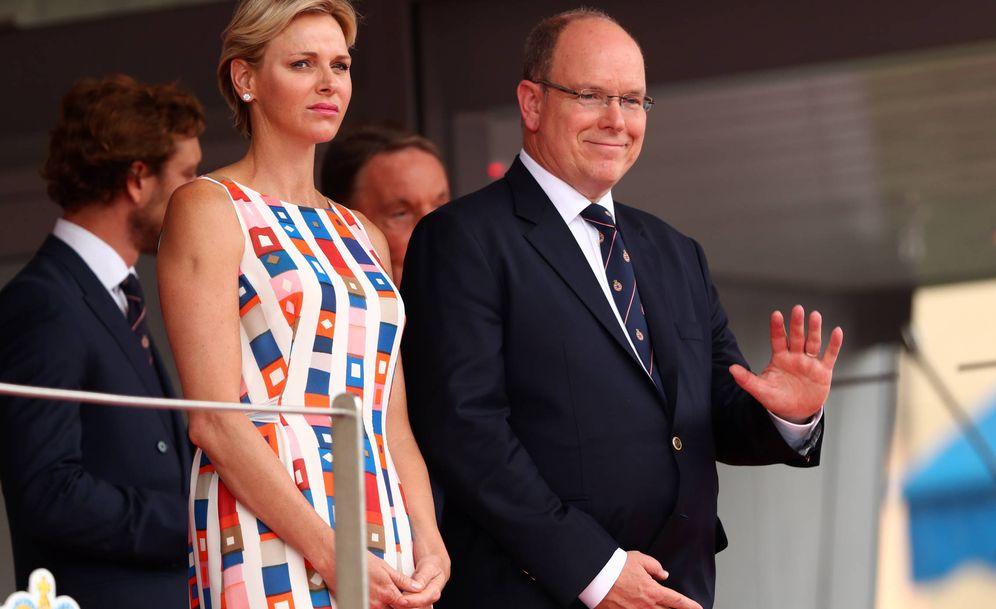 Foto: Charlène de Mónaco durante un evento. (Getty)