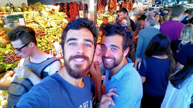 Foto: Jaime y Marcos Soto, en una imagen de su cuenta de Facebook