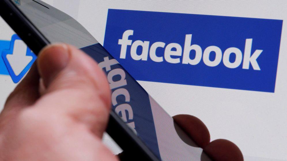 Foto: Imagen del logo de Facebook. (Reuters)