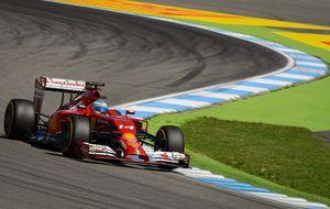 Alonso  a bailar la danza de la lluvia para el GP de Alemania