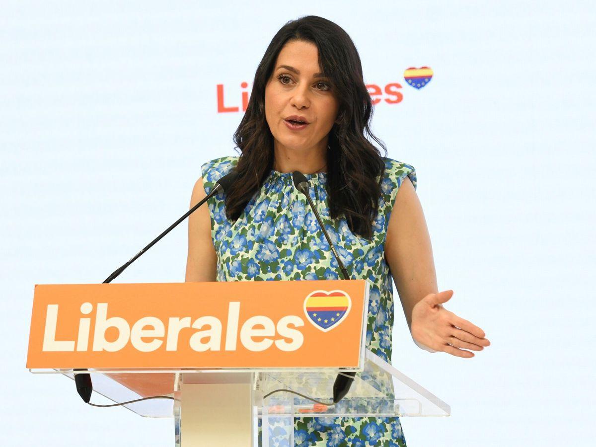 Foto: La presidenta de Cs, Inés Arrimadas. (EFE)
