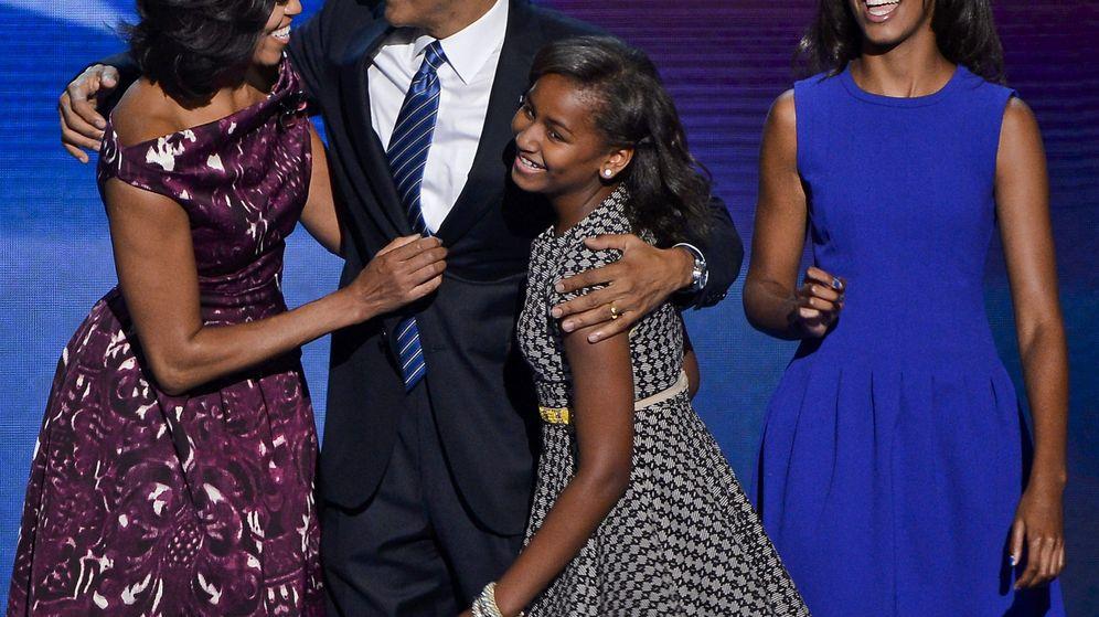 Foto: La familia Obama al completo en una foto de archivo. (EFE)