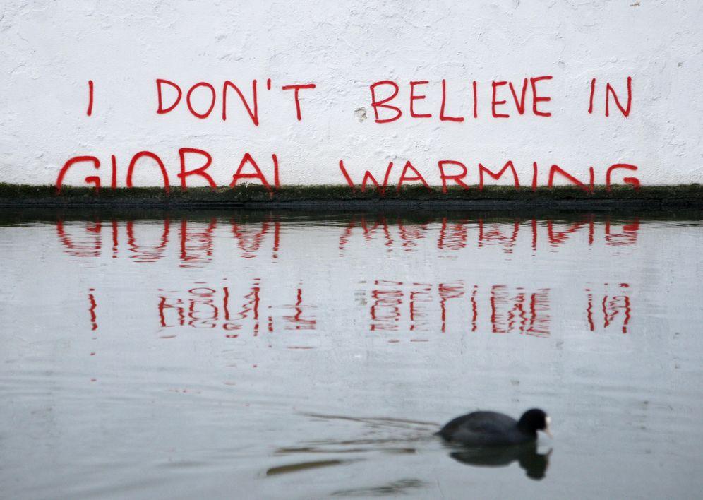 Foto: Graffity atribuido a Banksy en Londres. (Reuters)