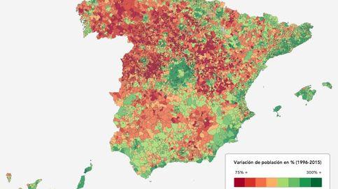 La España interior se queda vieja y sin habitantes
