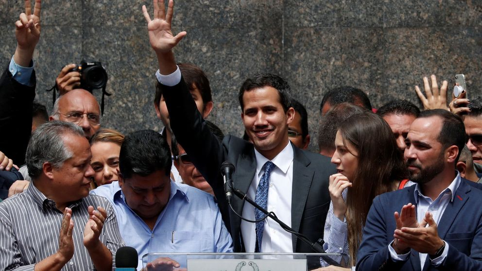 Guaidó llama a nuevas movilizaciones hasta la salida del usurpador Maduro