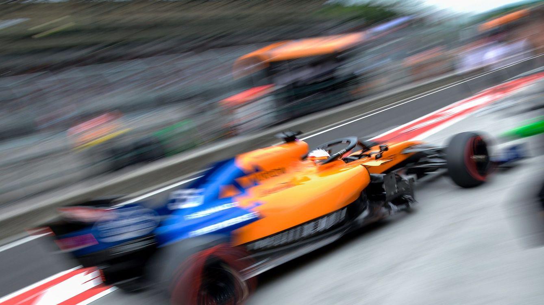 Foto: Monza es el trazado con mayores velocidades máximas y medias del calendario, donde McLaren puede sufrir, especialmente en entrenamientos (EFE)