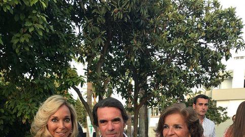 Raquel Bernal quita protagonismo a Aznar y Botella en la gala del cáncer de Marbella