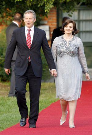Cherie Blair quería que el primer ministro sacara a Brown de Hacienda