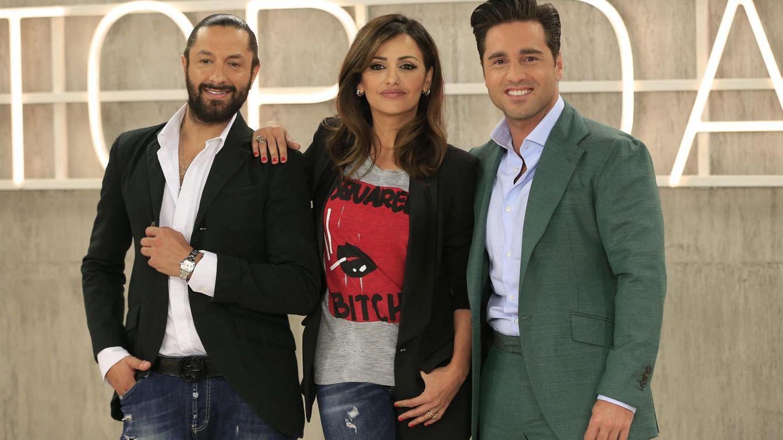 Foto: Los miembros del jurado de 'Top Dance': Rafael Amargo, Mónica Cruz y David Bustamante