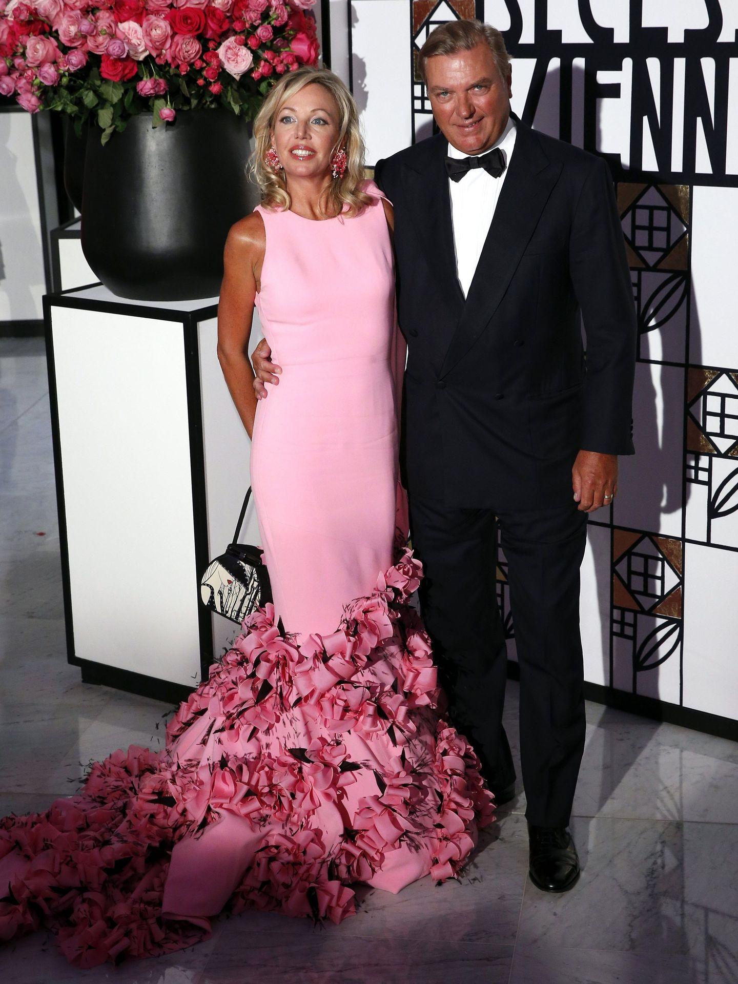 Camilla y Carlos de Borbón-Dos Sicilias. (EFE)