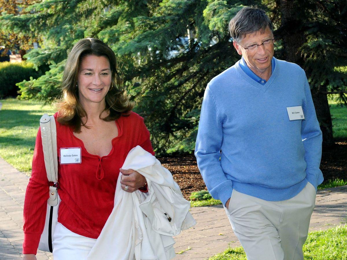 Foto: Fotografía de archivo de Bill y Melinda Gates. (EFE)