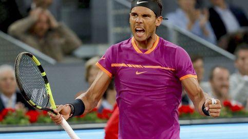 Nadal pone la directa y se cuela en semifinales bajo el techo de Madrid