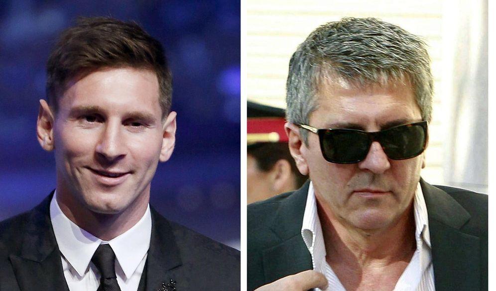 Foto: El juez envía a juicio a Messi y a su padre acusados de tres delitos fiscales (EFE)