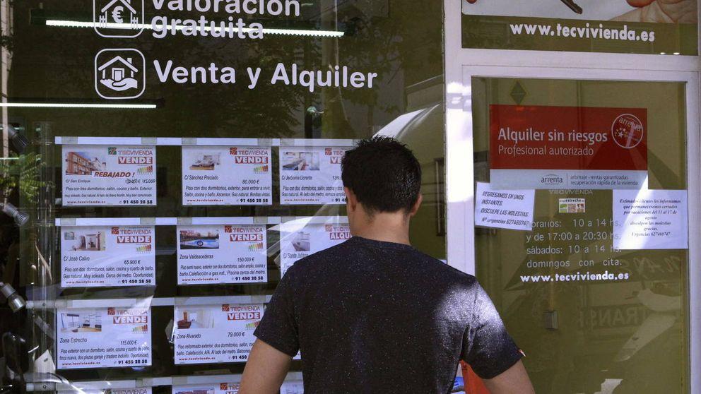 El alquiler se fractura: cae en Madrid y Barcelona y sube en el resto de España