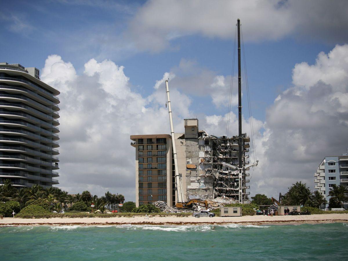 Foto: Los vecinos sintieron vibraciones durante la construcción del cercano edificio Eighty Seven Park (Reuters/Marco Bello)