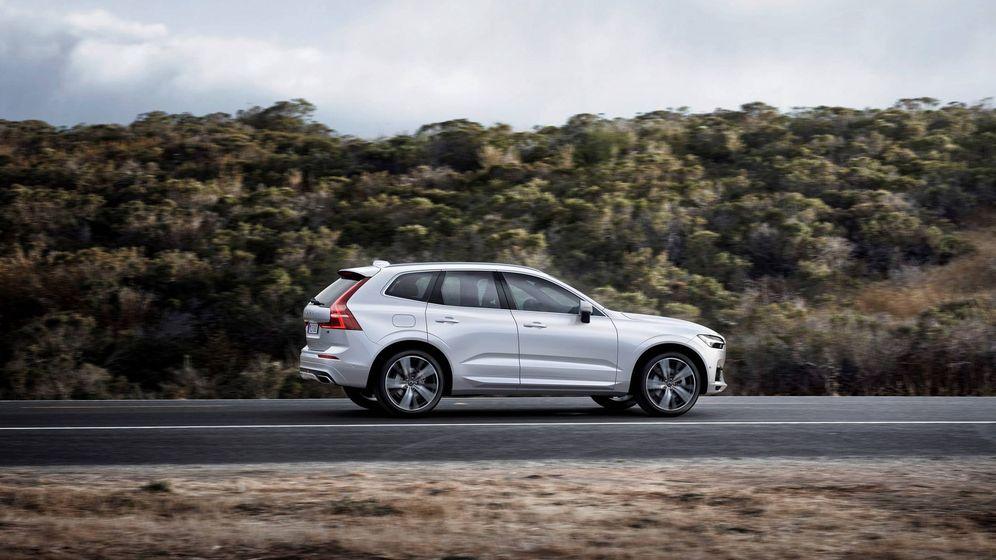 Foto: El nuevo Volvo XC60 ya rueda por las carreteras españolas.