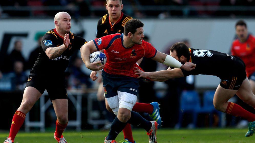 Foto: El gran reto del rugby español es modernizarse y crecer. (EFE)