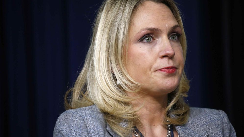 Foto: La asesora de la Casa Blanca, Kelly Sadler. (Reuters)