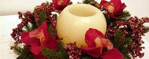 Foto: Arte floral para una decoración navideña exclusiva